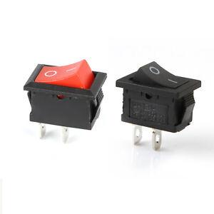 Rocker Switch 6A 250V 1 Circuit On-Off-On SPDT D:20mm Legend I-0-II