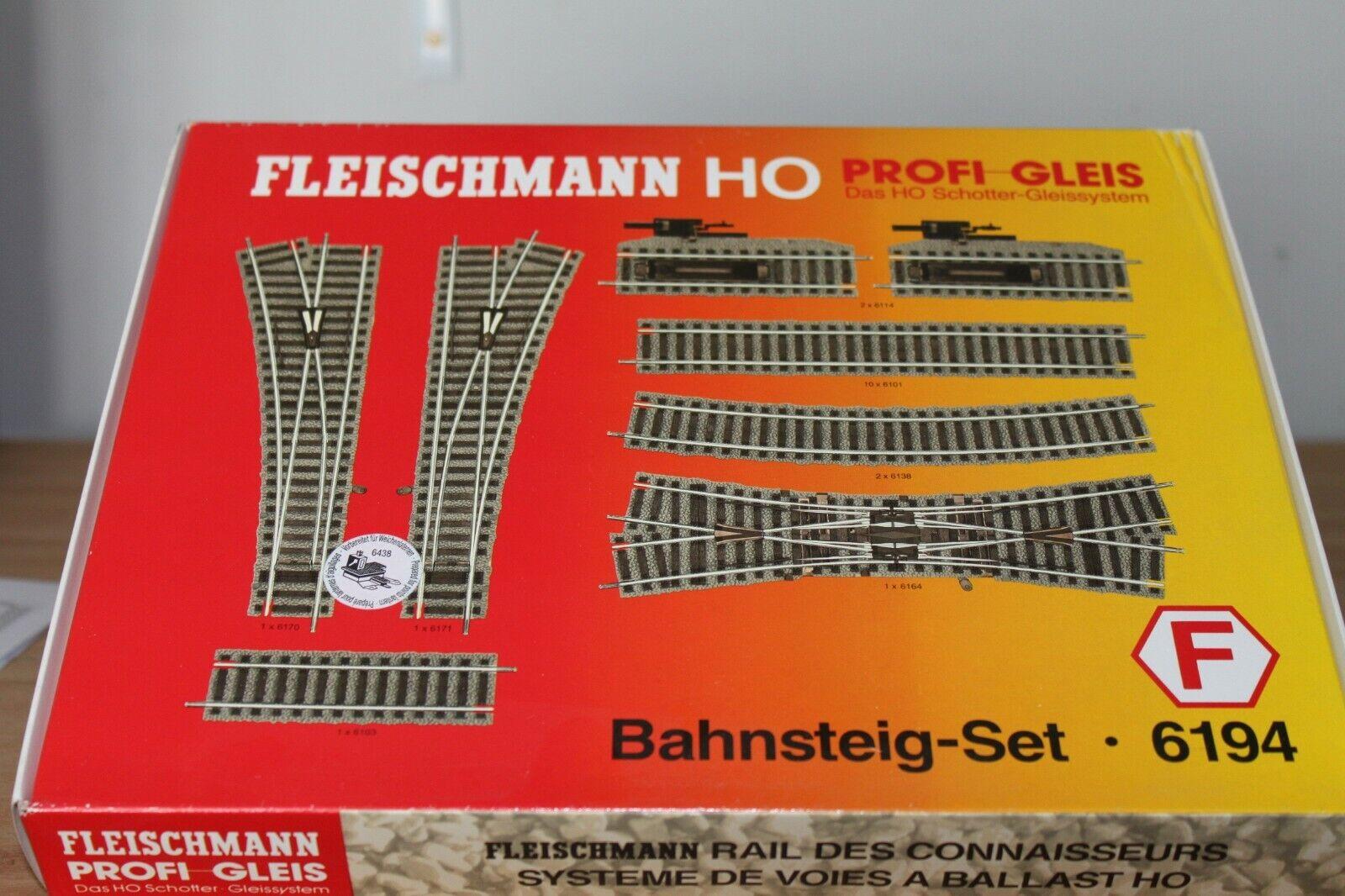 Fleischuomon HO Platformset 6194 nieuw in originele verpakre