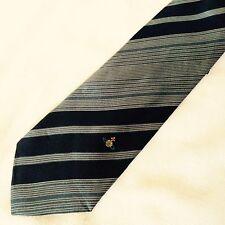 VIVIENNE WESTWOOD cravatta tie original 100% seta silk made in Italy nuova new