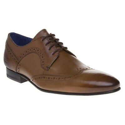 differently hot new products popular stores Ted Baker Ollivur Mens Tan Leather Brogue Shoes - 10 UK for sale ...