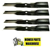 4 PK Made In USA High Lift Blades Replace John Deere M170639 GY20683