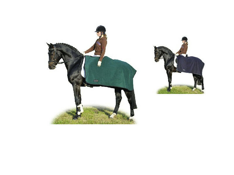 HKM Horse Exercise Sheet Rug Warm Polar Fleece  Choice Colour Size Free Delivery  cheapest
