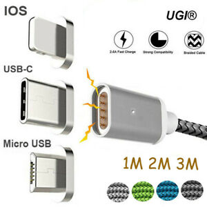 1m2m Magnetic Charger Charging Cable
