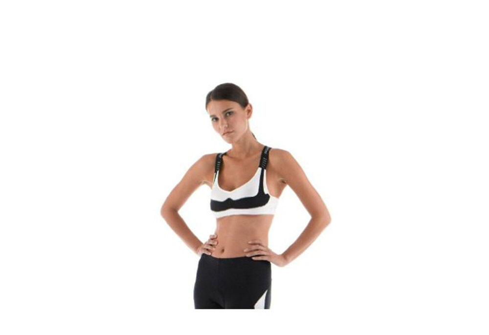 SANTINI BASE 365 LADIES SPORTS BRA BASE SANTINI LAYER FOR CYCLING AND RUNNING - PRICE CUT 99c925
