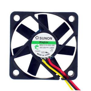 Sunon-MB50101V2-000U-G99-50mm-x-10mm-12v-MagLev-Fan-Vapo-Bearing-3-pin-connector