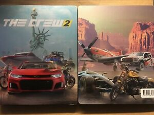 Details about THE CREW 2 NEW STEELBOOK PS4 PC XBOX G2 SIZE METAL CASE  STEELBOX BOX