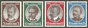 DR WWII Germany Rare WWII Stamp '1934 Germany Colonists Deutsches Kolonisten