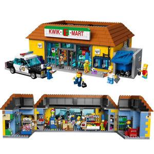 LEGO-COM-MATTONCINI-SIMPSON-JET-MARKET-CON-6-PERSONAGGI-HOMER-MARGE-BART-APU