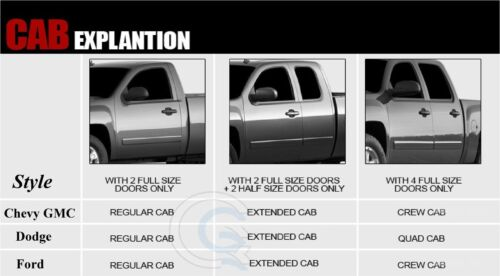 99 15 4Pc L/&R Rear Door Inner /& Outer Bottom Kit Super Duty Extended Cab Truck