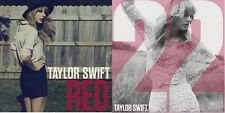 "TAYLOR SWIFT - Lot of 2 CD Singles - ""RED"" & ""22"" - Limited Edition & Numbered"