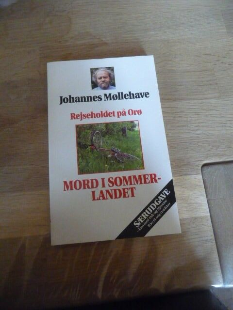 Mord i sommerlandet, Johannes Møllehave, genre: krimi og