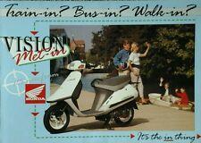 Honda Vision Met-In UK Sales Brochure - 1989  #