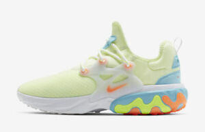 0912564248cf8 Image is loading Nike-React-Presto-Psychedelic-Lava-Barely-Volt-Yellow-