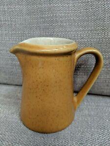 Vintage Premiere DuraStone Orange Stoneware Creamer P9200 Japan