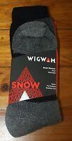 Wigwam Snow Sirocco Wool Socks Midweight Gray Size M (5-9.5)