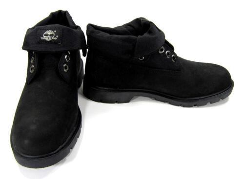 Schoenen Af Top Maat Timberland Laarzen Roll Lerenripstop 8 Zwarte lJFKc1