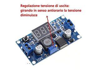 ELEVATORE-RIDUTTORE-DI-TENSIONE-REGOLABILE-UP-DOWN-35V-3A-CON-DISPLAY-LCD