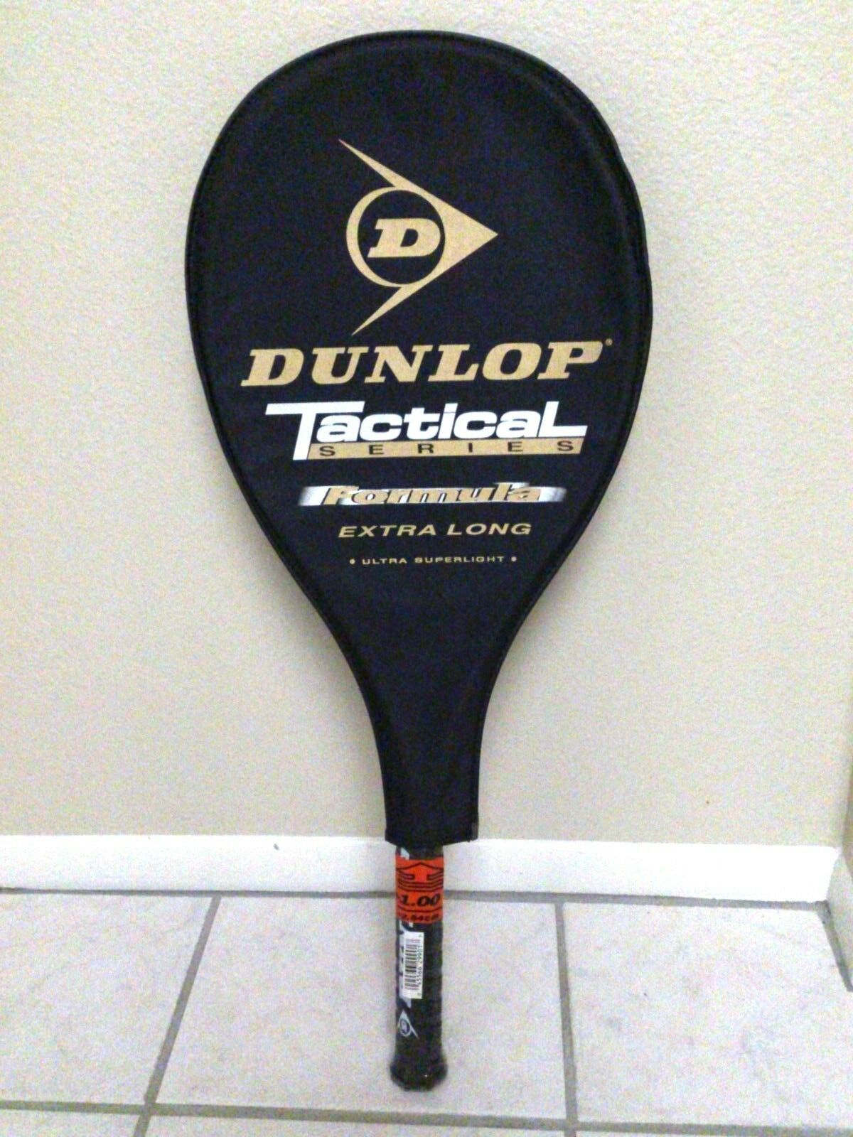 DUNLOP Tactical Formula Tennis Racquet  Extra Long Brand Nuovo Nuovo Brand 4 3/8 e00961