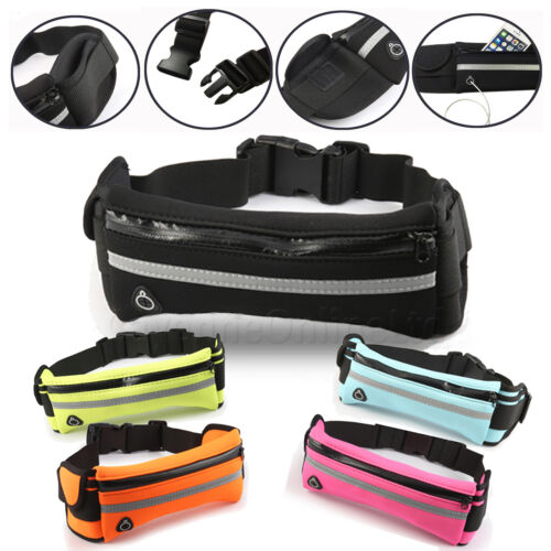 GYM TRAVEL SPORTS ACTIVE WAIST BELT FANNY PACK POUCH For Samsung Galaxy S10 Plus