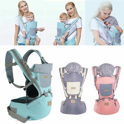 Baby Tragetasche Bauchtrage 4 Tragpositionen Babytragetuch Kinder Tragegurt DHL