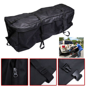 Waterproof Cargo Bag >> Details About Waterproof Cargo Luggage Bag Basket Car Roof Top Rack Carrier Travel 4wd For Suv