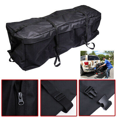 Waterproof Cargo Luggage Bag Basket Car Roof Top Rack Carrier Travel 4wd For Suv Ebay