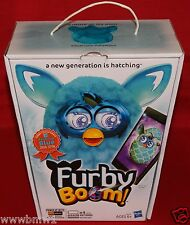 FURBY BOOM TEAL PATTERN SPECIAL EDITION PLUSH INTERACTIVE TOY RARE BRAND NEW