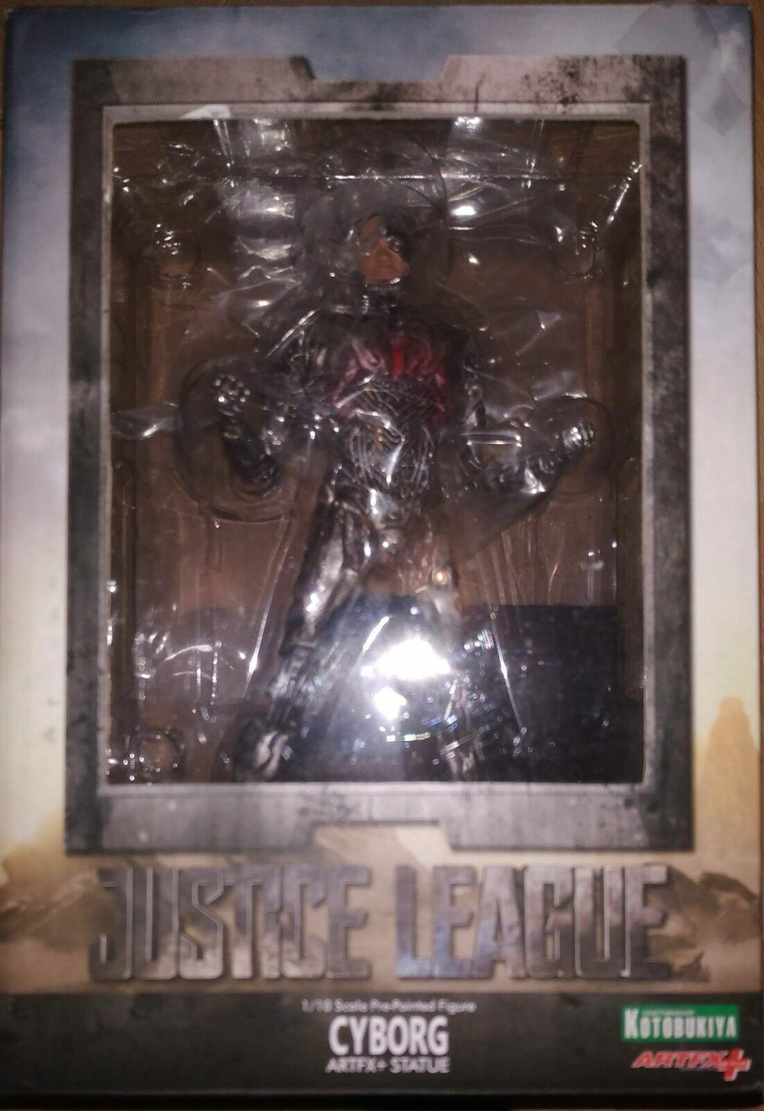 Kotobukiya - Statue Justice League Cyborg ARTFX+ - COMME NEUVE