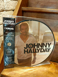 Johnny Hallyday - L ATTENTE - PICTURE DISC COLLECTOR - EDITION LIMITÉE