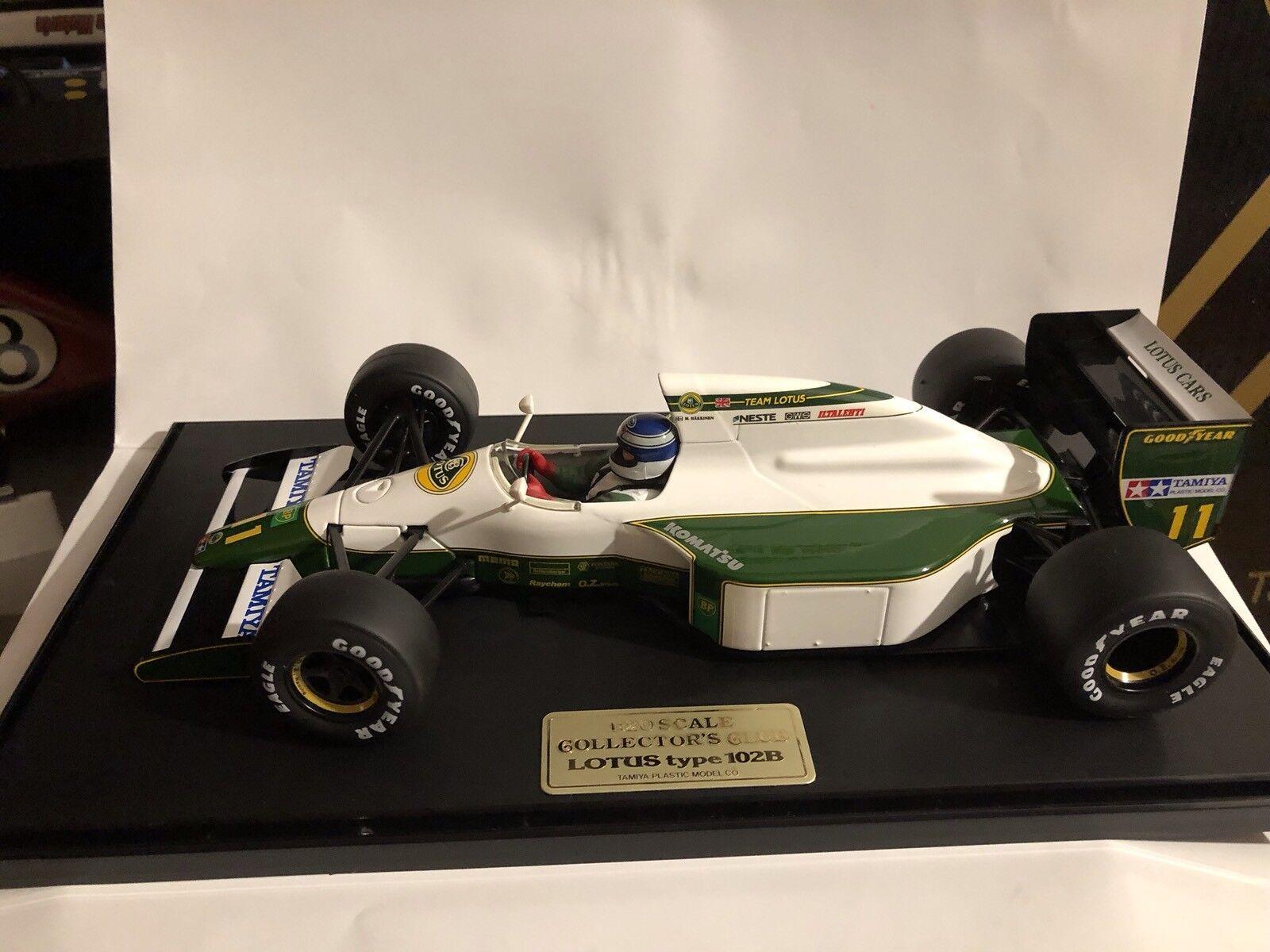 Lotus Tamiya 1 20 Mika Hakkinen