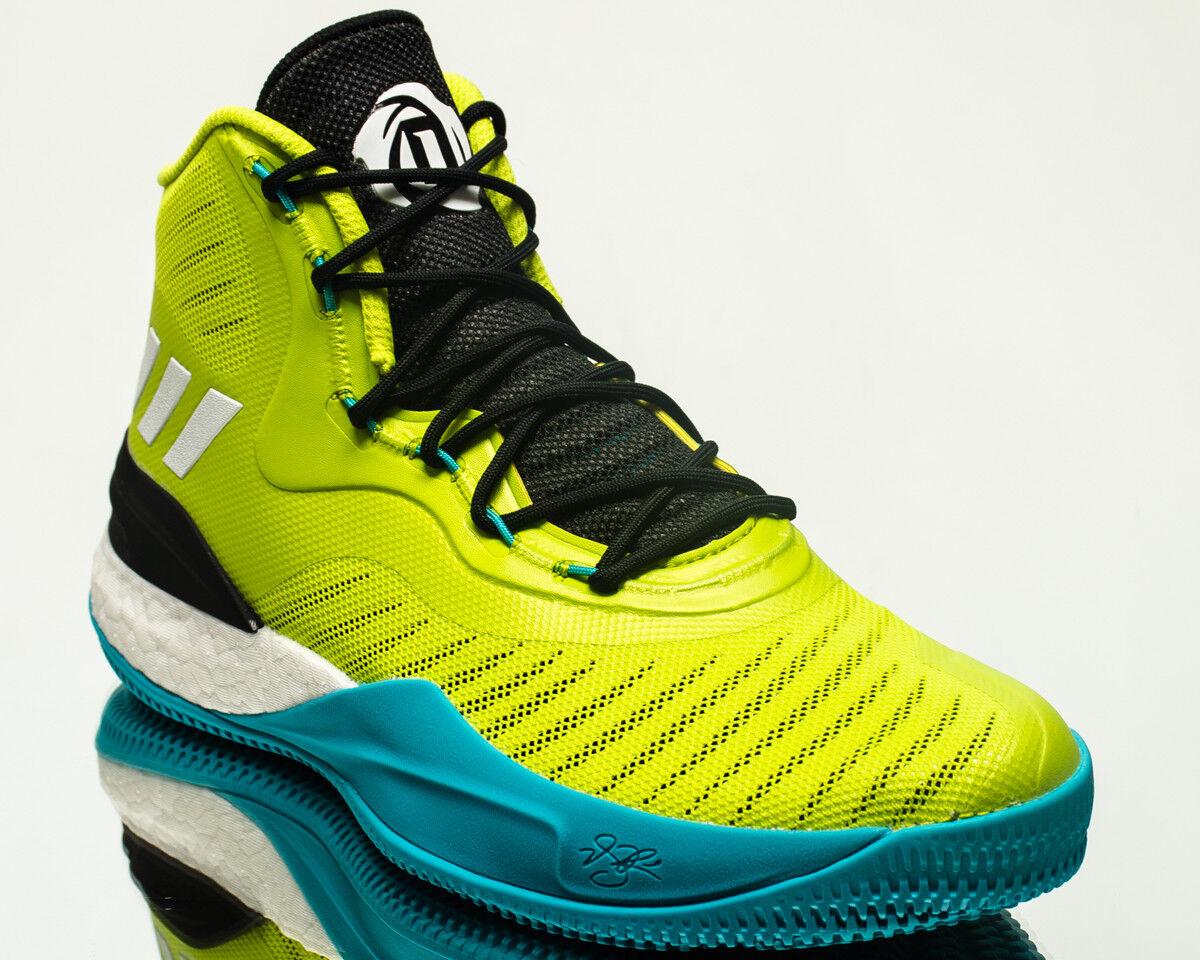Adidas D Rose 8 hombres hombres 8 zapatillas de baloncesto blanco negro nuevo Volt de Turquía cq0828 casual salvaje 3ac056