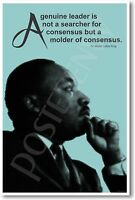 Martin Luther King - A Genuine Leader...- Poster