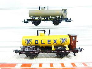 Bx48-0-5-2x-Trix-int-h0-dc-vagones-Olex-DRG-petroleum-K-Bay-STS-B-Neuw