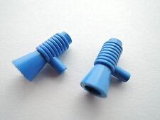 LEGO Minifigur Zubehör Megafon Lautsprecher Blaster  4349 blau  4 Stück