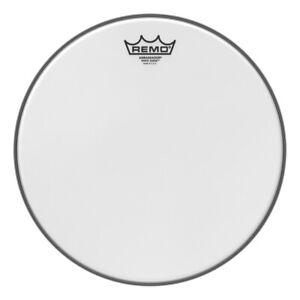 remo snare drum tom heads white suede ambassador 13 757242538463 ebay. Black Bedroom Furniture Sets. Home Design Ideas