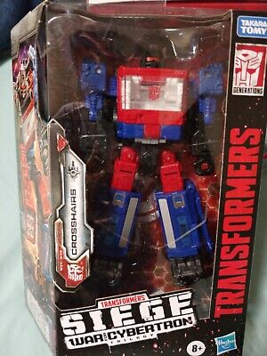 TRANSFORMERS SIEGE WAR FOR CYBERTRON WFC DELUXE CLASS SPINISTER /& CROSSHAIRS NIH