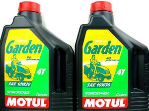 Motul-jardin-l-039-HUILE-DE-MOTEUR-10W30-Tondeuse-a-gazon-kleintraktoren-jardinage