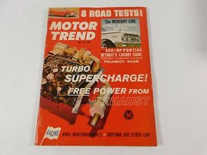 Vintage Original May 1962 Motor Trend  Magazine Custom Car Mods