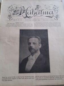 Vintage-Mahatma-Adrian-Plate-Issue-1899-Vol-II-No-VII