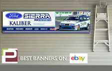Ford Sierra RS 500 Cosworth KALIBER Banner for Workshop / Garage, 1300mm x 325mm