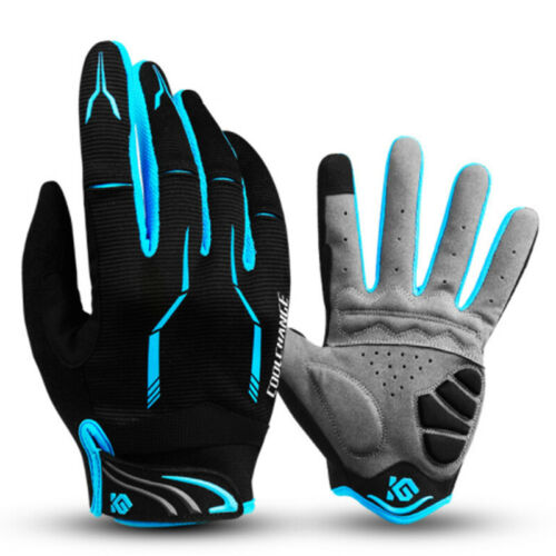 Mountain Bike Motorcycle Full Finger Pad Gloves Bicycle Riding Racing Road Sport
