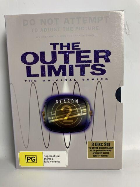 THE OUTER LIMITS Original Series Season 2 US DVD BOX SET cult sci-fi TV show