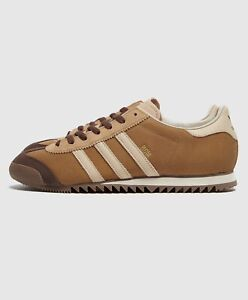 Details about adidas Originals Rom Brown Leather Shoes Trainers