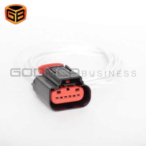 1x Connector 6-way 6 pin for Mass Air Flow Sensor Ford WPT-1241