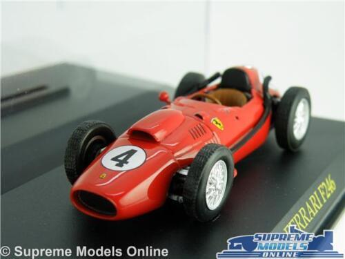 Ferrari F246 coche modelo escala 1:43 Rojo Estuche de carreras de fórmula uno 1 IXO K8