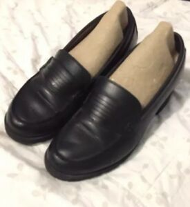 dad9c68c2d1 Women s Eastland Newbury Penny Loafers SIZE 9 Black Slip On Leather ...