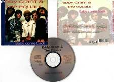 """EDDY GRANT & THE EQUALS """"Baby Come Back"""" (CD) 1993"""