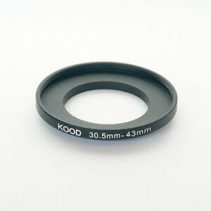 Step Up filtro-adaptador 30,5mm-43mm