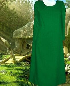 Details about Medieval Kirtle Undergown SCA Garb COLOR YOUR CHOICE Cotton  Norse L XL