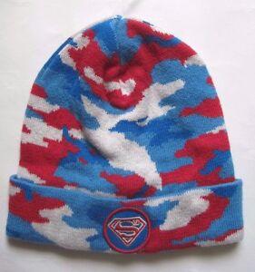 549d35c4c Details about Baby Gap +Junk Food Superman Knit Boys Hat Size M/L NwT